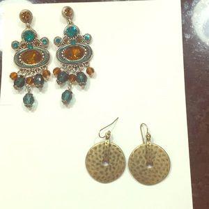 Jewelry - Bundle of 2 pair of earrings